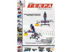 Barra diserbante idraulica per vigneto e frutteto Terpa Nuovo