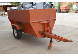 Vasca trasporto uva autoscaricante usato