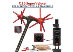 Agrotechnic X.16 SuperVeloce PER OLIVDA TAVOLA E MANDORLE Nuovo