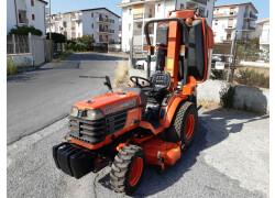 Trattore Kubota B2400  - Piatto taglia erba + Raccoglitore
