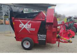 Lanciapaglia autocaricante Zago Exel 300 nuovo   *prezzo promozionale*