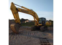 Escavatore New Holland E 385 C TRIPLICE Usato