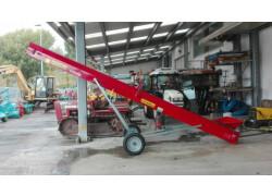 Nastro trasportatore per legna 6 metri collino - nuovo -
