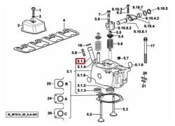 Cod. 0.010.6041.0/10 bussola (testa dei cilindri) sdf parts
