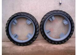 Coppia ruote strette per trattore usate