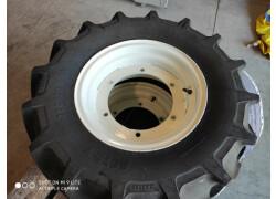 2 pneumatici mitas 280/70r16 completi di cerchi