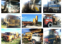 Camion - betoniere - impianto betonaggio