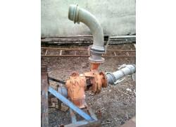 Pompa per irrigazione landini con 100 tubi da 80