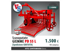 Scavapatate Giemme PD 55 L Nuovo