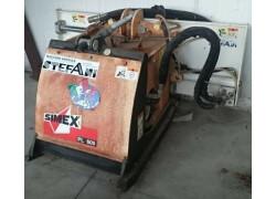 fresatrice per cementi e asfalti simex pl 600