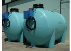 Cisterne per ad blue con gruppo erogatore