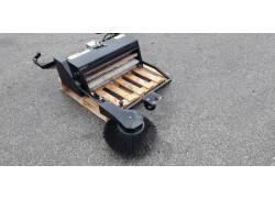 Spazzatrice frontale per trattorino STIGA