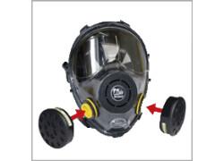 Spring Protezione Maschera panoramica bifiltro IN 150/2 FILTRI