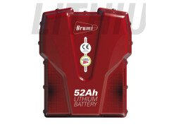 Batteria a zaino Brumi 52AH LITHIUM BATTERY Nuovo