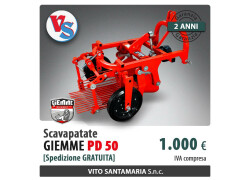 Scavapatate Giemme PD 50 Nuovo