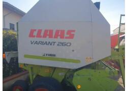 CLAAS  VARIANT 260 Usato