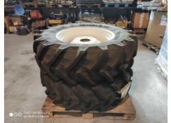 2 pneumatici 420/70r30 completi di cerchi